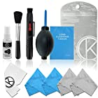CamKix Professional Camera Cleaning Kit for DSLR and GoPro Cameras- Canon, Nikon, Pentax, Sony - Cleaning Tools and Accessories