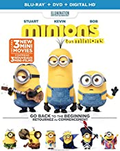 Minions [Blu-ray + DVD + Digital Copy]