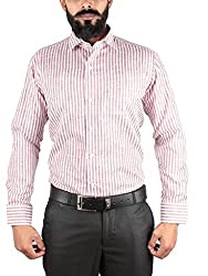 McHenry red striped shirt