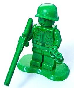 -  Lego Toy Story Mini Figure - Army Man with Rifle & Binoculars (Green Army Men)