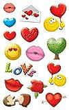 Avery Zweckform Sticker 76 x 120 MM Paper borders Love