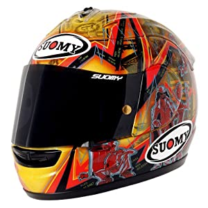 Suomy Spec-1R Extreme Full Face Helmet (Wall Street, Large)