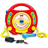 Kids Karaoke Machine, 2 Microphones for Sing Along & Fun! CD/MP3 Player with Anti-skip Protection, Great Gift!