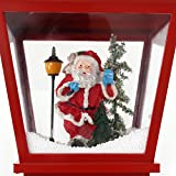 More-Designs-IndoorOutdoor-Snowing-Santa-Clause-Christmas-Tree-StreetLamp-Post-71-Festive-Waterproof-Decoration-with-Snowfall-Musical-LED-Lights-by-OYE-HOYE