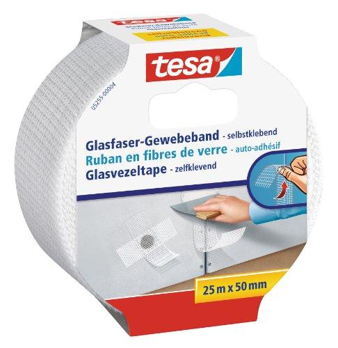 tesa-Reparaturband-fr-Risse-in-Wnden-Glasfaser-Gewebe-selbstklebend-25m-x-50mm