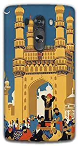The Racoon Grip Hyderabad hard plastic printed back case / cover for LG G3