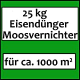 25 kg Eisendünger Ferrogranul Mossvernichter Rasendünger Dünger Moosverdränger