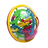 Picture Of <h1>Gogogo 3D Intellectual Challenge Toy 100 Barriers Balance Maze Ball Puzzle Mini Size</h1>