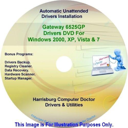 Gateway 6525Gp Drivers Dvd Disc - Windows, Xp, Vista, Windows 7 And Windows 8 Driver Kits - Automatic Hardware Drivers Installation