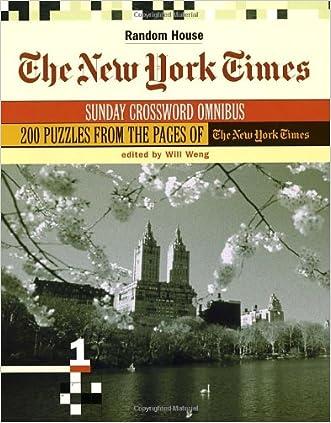 The New York Times Sunday Crossword Omnibus, Volume 1