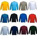 Fruit of the Loom Set-In Sweatshirts in 12 Farben und Grösse S, M, L, XL und XXL