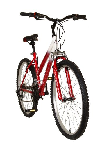 Mantis Raptor Women's 26- Inch Bike, White/Red