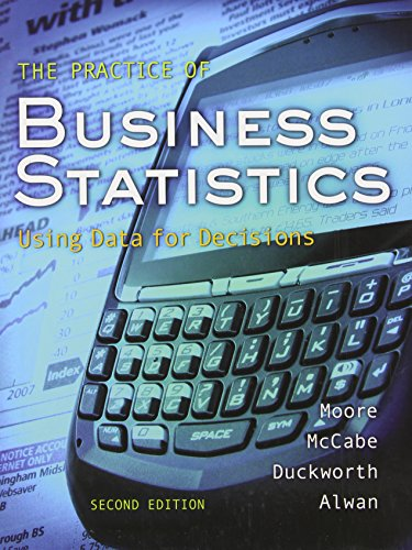 The Practice of Business Statistics:  Using Data for...