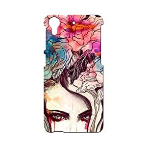 BLUEDIO Designer Printed Back case cover for HTC Desire 728 - G4166