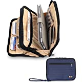 BUBM Double Layer Padded Travel Electronic Case Packing Cubes for iPad Mini / Makeup Bag