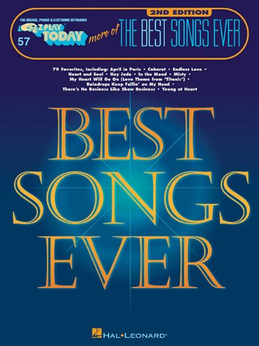More of the Best Songs Ever: E-Z Play Today Volume 57