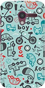DailyObjects All Boys Case For Moto X (Back Cover)
