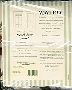 Amazon Com Waverly Garden Images Parchment French Door
