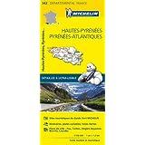 Carte Hautes-Pyrénées, Pyrénées-Atlantiques Michelin