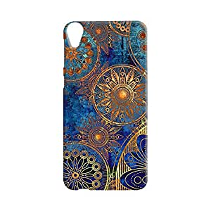 100 Degree Celsius Back Cover for HTC Desire 820 (Designer Printed Multicolor)