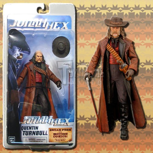 "Jonah Hex: Series 1 Quentin Turnbull 7"" Action Figure"