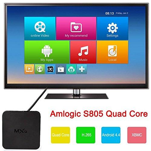 MXQ S805 Smart TV BOX Android XBMC Quad Core 8GB WIFI HD 108