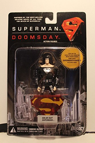 DC Direct: Superman/Doomsday Solar Suit Superman Action Figure