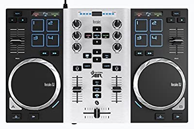 Hercules Air S Series 4780771 DJ Controller for PC and Mac from HEREC