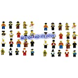Thinkmax VDproTM Lot of 20 New Minifigures Men People Minifigs