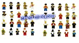 ThinkMax Minifigures (Pack of 20), Multi-Color