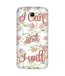 I Can I Will Samsung Galaxy Mega 5.8 Case
