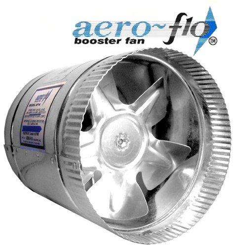 """6"""" Aero-Flo Model Inline Duct Fan 240 CFM"""