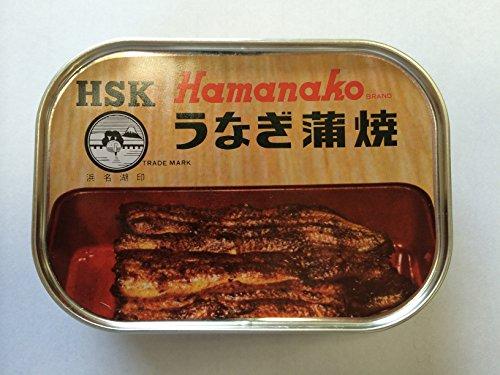 浜名湖印 うなぎ蒲焼 缶詰