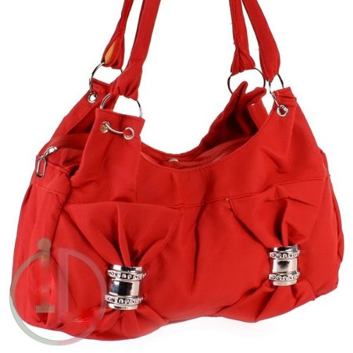 ladies new celebrity style red soft handbag with logo jewell genuine striped shoulder bag for all occasion evening cocktail party colour summer holiday