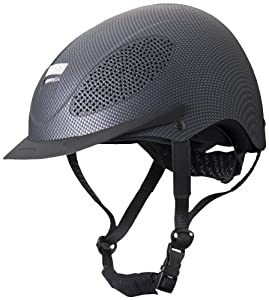 Devon-Aire/ Aegis Spectrum Equestrian Riding Helmet, Black, Large