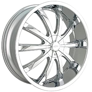 DIP Slack D66 Chrome Wheel (22x8