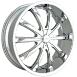 DIP Slack D66 Chrome Wheel (20×8.5″)