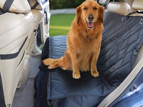 waterproof pet seat cover car bench seat protector for pets large sized dogs hammock seat cover. Black Bedroom Furniture Sets. Home Design Ideas