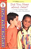 Did You Hear about Jake?: Level 2 (Real Kid Readers: Level 2) L.V. Tidd