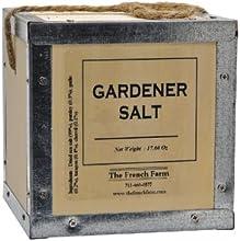 Gardener Salt Pere Pelletier Salt from France in Wood Box 176 oz