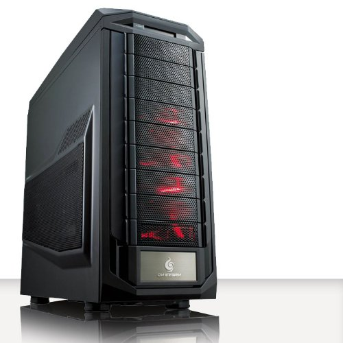 VIBOX Demon Turbo 5 - Extreme, Gamer, Gaming PC, Desktop PC, Computer (Neu 4.5GHz Overclocked Intel, I7 3770K Schnell Quad-Core, Ivy Bridge, Ultimative Prozessor, 2 GB Overclocked AMD Radeon R9270X Grafikkarte, 120GB SSD Solid-State-Laufwerk, Große 2TB Festplatte, Corsair CX750M PSU, Corsair H75 Wasser CPU Kühler, Z87X SKT1155 Motherboard, Blu -Ray ROM, 32 GB Corsair Vengeance 1600MHz RAM, Kein Betriebssystem)