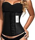 Women's Waist Cincher, Size XS (Black)
