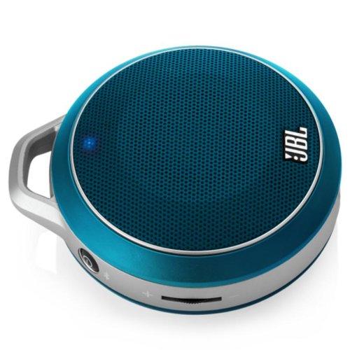 JBL Micro Wireless Bluetooth Speaker- Each (Blue)