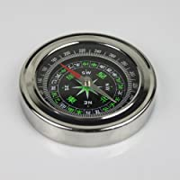 XINTE Stainless Steel Compass Diameter 75MM for Tourist Camping Outdoor Sports from XINTE