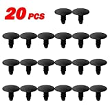 PartsSquare 20pcs Fender Liner Fastener Rivet Push Clips Retainer for Dodge Intrepid Neon Shadow Viper Eagle Vision Plymouth Horizon Laser Neon Jeep Cherokee Liberty Patriot Wrangler