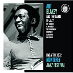 Art Blakey at Monterey cover