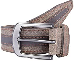 Western Lifestyles Men's Belt (WBL013, Brown, Medium)