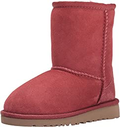 UGG Australia Classic Redwood Sheepskin Girl Toddler Boots Size 9 - 5251