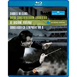 Lucerne Festival: Shostakovich Symphony No. 8 [Blu-ray]