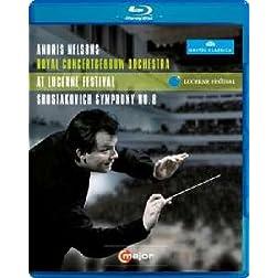 Lucerne Festival: Shostakovich Symphony No. 8 [Blu-ray]